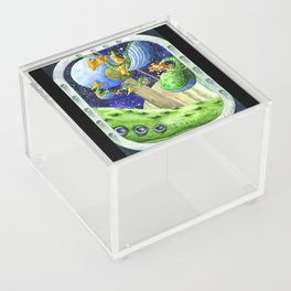 Space Whale Acrylic Box