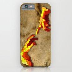 Michelangelo hands. Pixelation Slim Case iPhone 6s