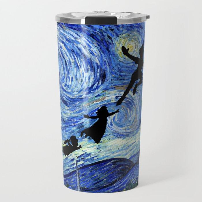 Peter Pan Starry Night Travel Mug