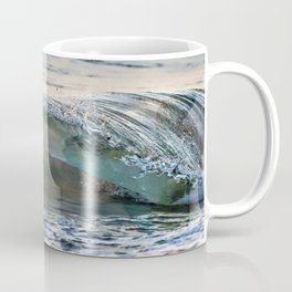 Sea Turtles In The Waves (Disappearing or Camouflage Artwork) Coffee Mug