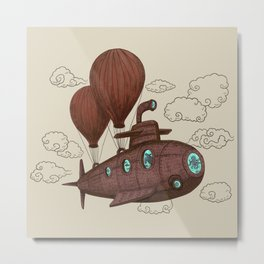 The Fantastic Voyage Metal Print
