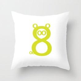 Orsacchi8 Throw Pillow