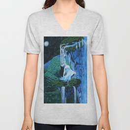 Secret midnight falls Unisex V-Neck