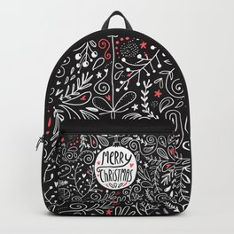 Merry Christmas doodles Backpack