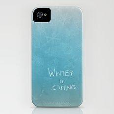 Winter is coming iPhone (4, 4s) Slim Case