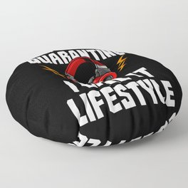 You Call It Quarantine - I Call It Lifestyle Floor Pillow