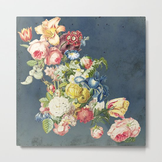 Floral Tribute to Louis McNeice Metal Print