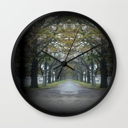 Nature's guard of Honour Wall Clock