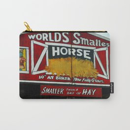 Worlds Smallest Horse Carry-All Pouch