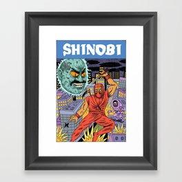 Shinobi Framed Art Print