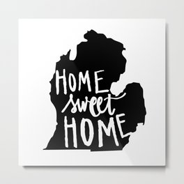 The Mitten - Home Sweet Home! Metal Print
