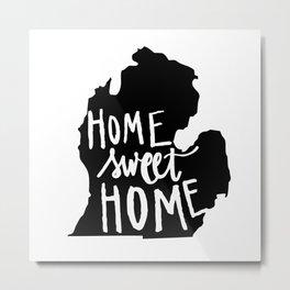 The Mitten - Home Sweet Home! Metal Print