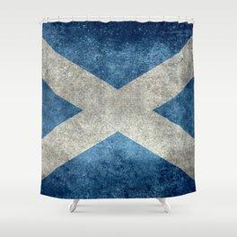 Flag of Scotland or Scottish Flag Shower Curtain