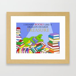 A Treasury of Books Framed Art Print