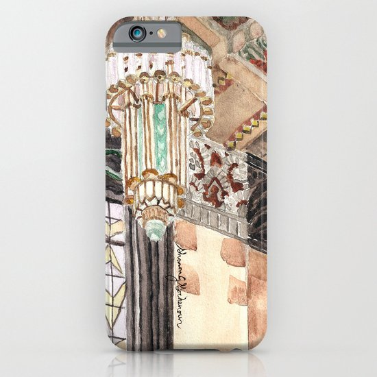 inside the Art Deco spaceship iPhone & iPod Case