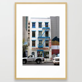 New York City Storefront 2014 Framed Art Print