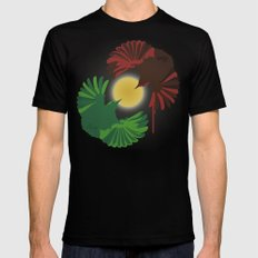 Wrens SMALL Black Mens Fitted Tee