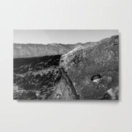 LAVA CLIMB Metal Print