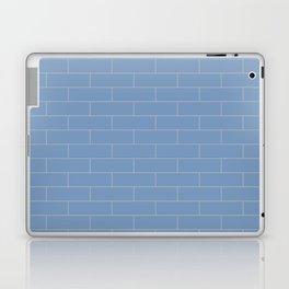 Running Bond Blue and Grey Laptop & iPad Skin