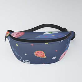 Space Doodle Fanny Pack
