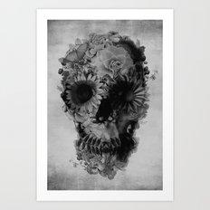 Skull 2 / BW Art Print