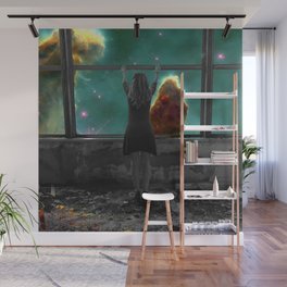 Window to Another World Wall Mural