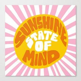 Sunshine Vibes Canvas Print