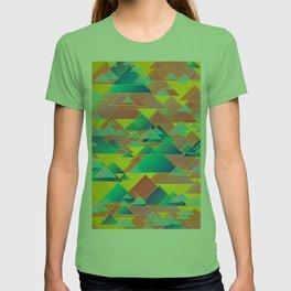 Random triangles T-shirt