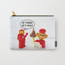 """space lego meeting the """"arale wannabe"""" monkey Carry-All Pouch"""