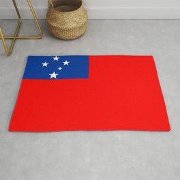 Samoa country flag Rug