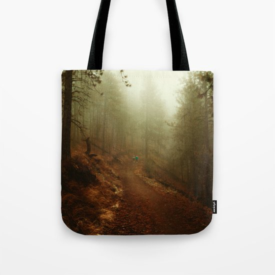 Autumn in Ponderosa Pines Forest Tote Bag