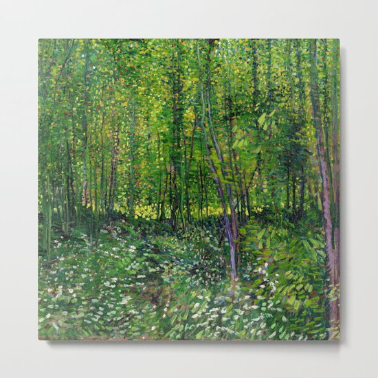 Vincent Van Gogh Trees and Undergrowth 1887 by vincentvangoghart