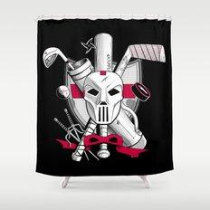 TMNT Casey Jones Shower Curtain