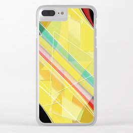 Pattern 2018 006 Clear iPhone Case