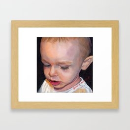 KORBEN - 2 YEARS OLD Framed Art Print