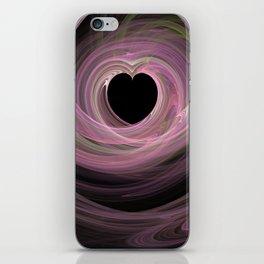 Valentine's Fractal IV - Dark iPhone Skin