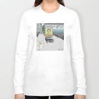 "korea Long Sleeve T-shirts featuring ""Magic Kingdom"" (North Korea) by correia creative"