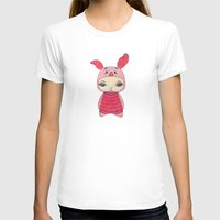 piglet T-shirts featuring A Boy - Piglet (porcinet) by Christophe Chiozzi