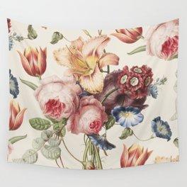 Vintage Botanical No. 3 Wall Tapestry