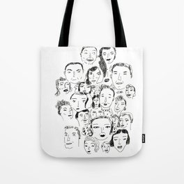 Face Group Tote Bag