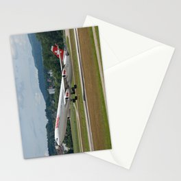 Swiss International Air Lines Airbus A340-313 Stationery Cards