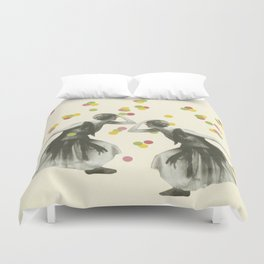 Dance : Gemini Duvet Cover