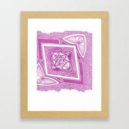 Radial 3 Framed Art Print