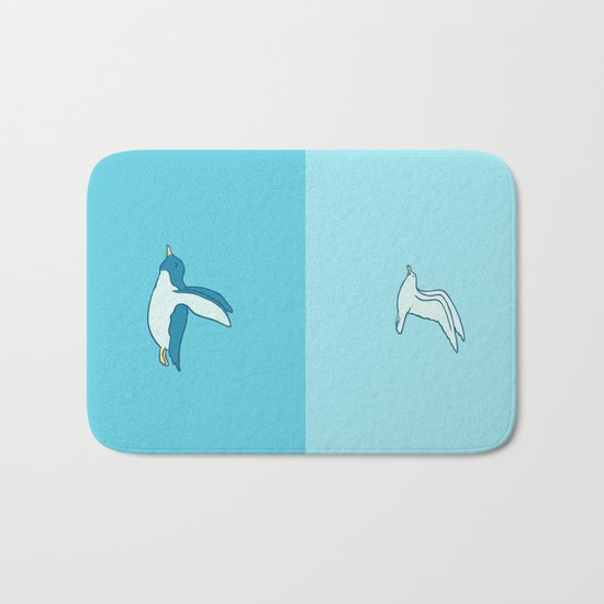 Fly in your own sky Bath Mat