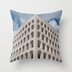 The origin of simmetry Throw Pillow