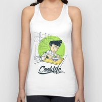 cook Tank Tops featuring Cook Life by paul nunez