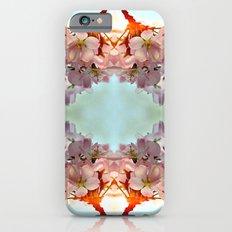 Delicate cherry blossoms iPhone 6s Slim Case