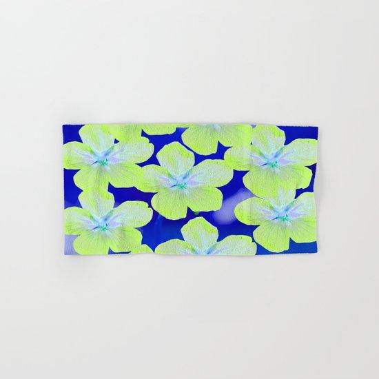 Retro Flowers II Hand & Bath Towel