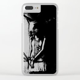 Hunting and Gathering Clear iPhone Case