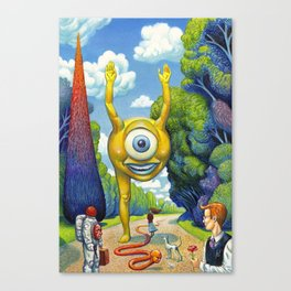 Appointment to the Park Canvas Print